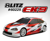 BLITZ EK9 1/10th 190mm Touring Car Body-shell