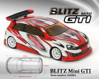 BLITZ Mini GTI 225mm