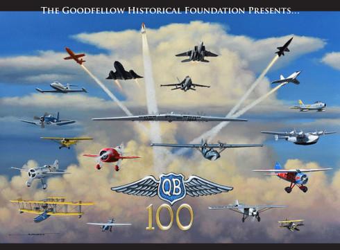 2021 100th Anniversary QB Calendar