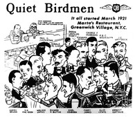 Founding members of Quiet Birdmen
