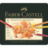 Faber Castell Polychromos Pencil Set - Tin of 24