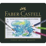 Faber Castell Albrecht Durer Watercolour Pencil Set - Tin of 24