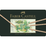 Faber Castell Pitt Pastel Pencil Set - Tin of 36