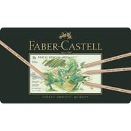 Faber Castell Pitt Pastel Pencil Set - Tin of 36