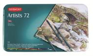 Derwent Artists Pencil Set - Tin of 72