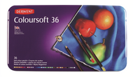 Derwent Coloursoft Pencil Set - Tin of 36