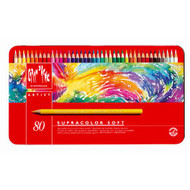 CARAN d'ACHE SUPRACOLOR® Soft Aquarelle Set - Tin of 80