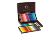 CARAN d'ACHE SUPRACOLOR® Soft Aquarelle Set - Wooden Box of 120