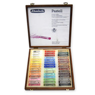 Schmincke Soft Pastel Set - Wooden Box of 45