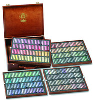 Schmincke Soft Pastel Set - Wooden Box of 400 (pre order)