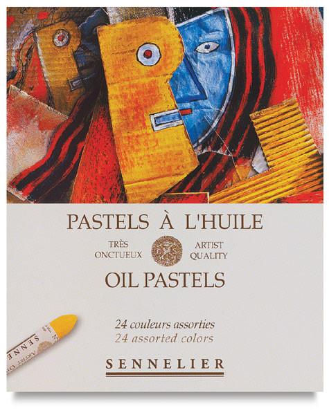 Sennelier Oil Pastel Sets Assorted 24pc