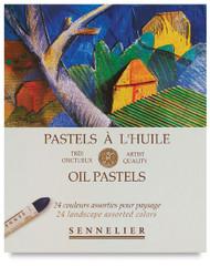 Sennelier Oil Pastel Set - 24 Landscape