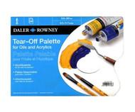 Daler Rowney Tear Off Paper Palette - A3