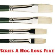 Pro Arte Series A Hog Brush - Long Flat