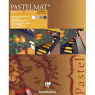 Clairefontaine Pastelmat Pads - Dark Shades (12 Sheets)