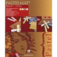 Clairefontaine Pastelmat Pads - Light Shades (12 Sheets)