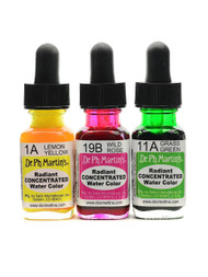 DR PH MARTIN'S RADIANT CONCENTRATED WATER COLOR, 0.5 OZ(15ML)