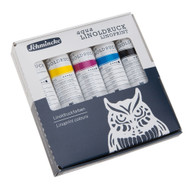 Schmincke Aqua Linoldruck Linoprint Colours Set (5x20 ml)