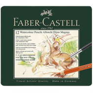 Faber-Castell Albrecht Dürer Magnus Watercolour Pencils Tin of 12 Voluminous Lead