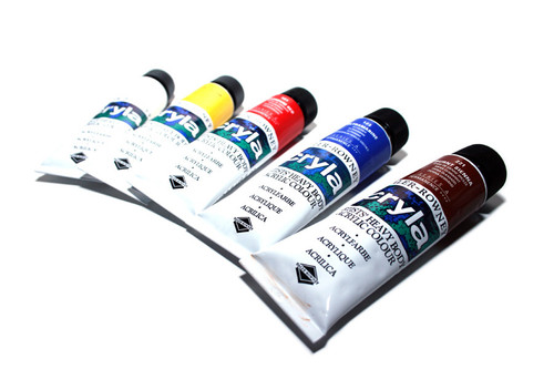 Daler Rowney CRYLA Artists' Acrylic 75ml tubes