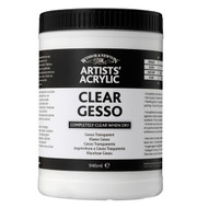 Winsor & Newton Artists Acrylic - Clear Gesso