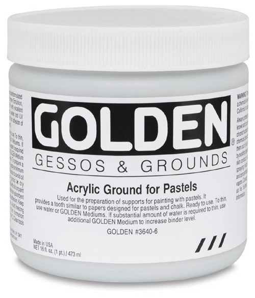 GOLDEN Acrylic Ground for Pastels