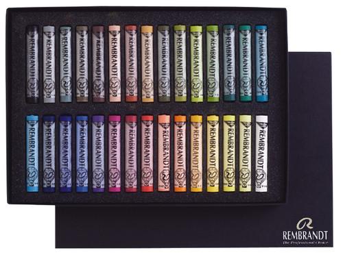 Rembrandt Soft Pastels General Selection Set of 30