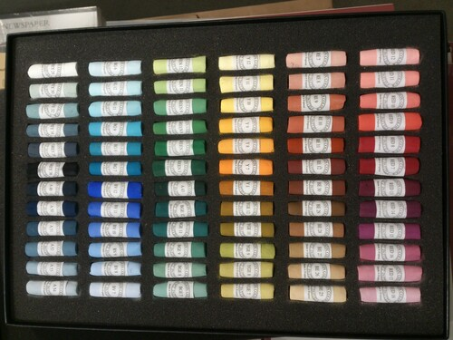 Unison Soft Pastel Set - 72 Starter Colours