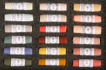 Unison Soft Pastel Set - 18 Portrait Colours