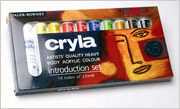 Daler Rowney Cryla Artists' Acrylic Introduction Set(10x22ml)
