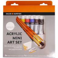 Daler Rowney Simply Acrylic Mini Art Set