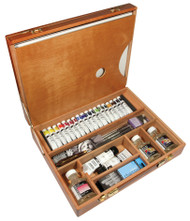 Daler Rowney Cryla Acrylic Colour Deluxe Wooden Box