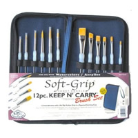 Royal & Langnickel Keep N' Carry Soft Grip Brush Set
