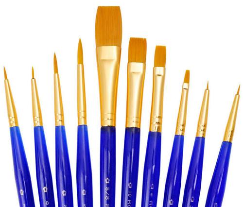 Royal & Langnickel Super Value Brush Set 1 open