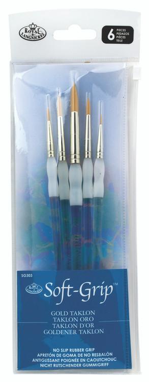Royal & Langnickel Super Value Brush Set 3 5pc