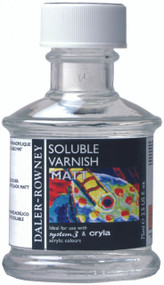 Daler Rowney Soluble Varnish (Matt) 75ml