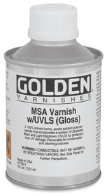 GOLDEN MSA UVLS Varnishes