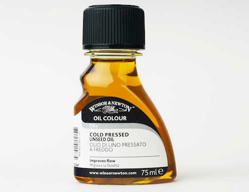 Winsor & Newton Oil Colour - Cold Pressed Linseed Oil