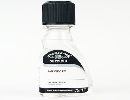 Winsor & Newton Oil Colour Solvents - Sansodor (Low Odour Solvent)