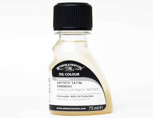 Winsor & Newton Oil Colour - Artists' Satin Varnish