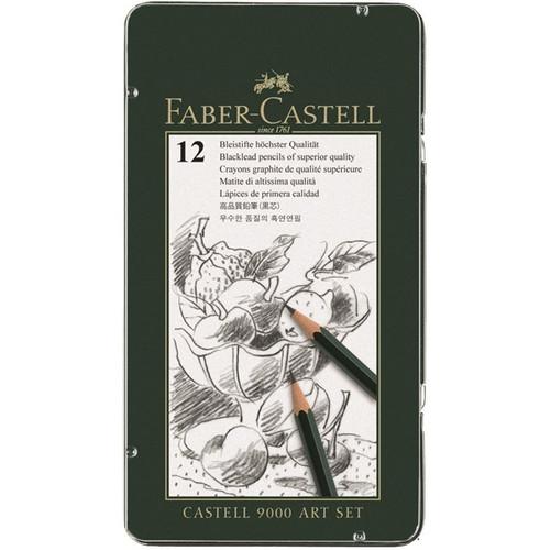 Faber Castell Graphite pencil CASTELL 9000 Art set