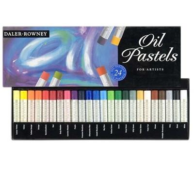 Daler Rowney Artists Oil Pastel 24 Pastel Set