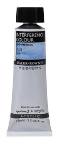 Daler Rowney Interference Medium - Shimmering Blue