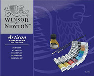 Winsor & Newton Artisan Water Mixable Oil Colour - Studio Set (10 x 37ml Tubes)