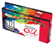 Daler Rowney Graduate Oil Selection Set - 10x38ml tubes