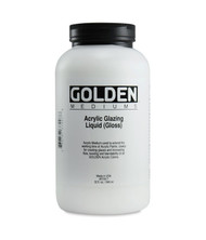 GOLDEN Acrylic Glazing Liquid Gloss