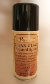 Prism Clear Glaze Aerosol Spray (150ml)