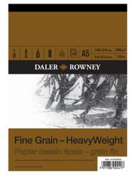 Daler Rowney HeavyWeight Pads - Fine Grain