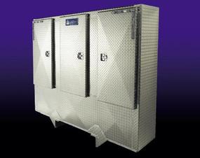 Aluminum Cabinet Limited Security Rack (LSR)