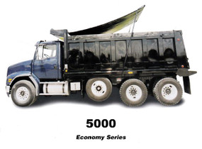 5000 Series GLU, Complete Roll Tarp System for Dump Truck